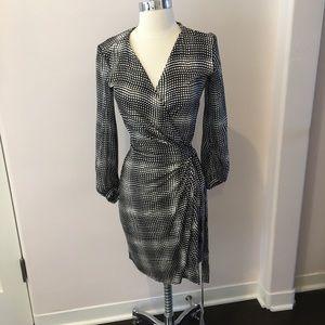 Diane von Furstenberg classic wrap dress, size 4